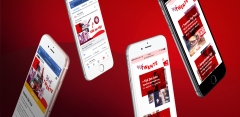 Twente mobile website and social campaign